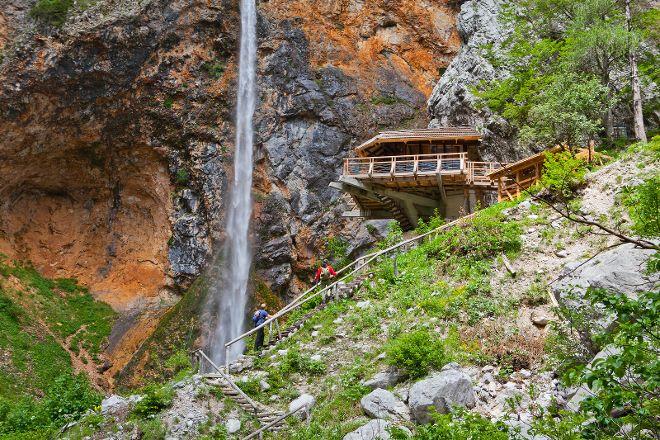 Rinka Waterfall, Solčava, Slovenia