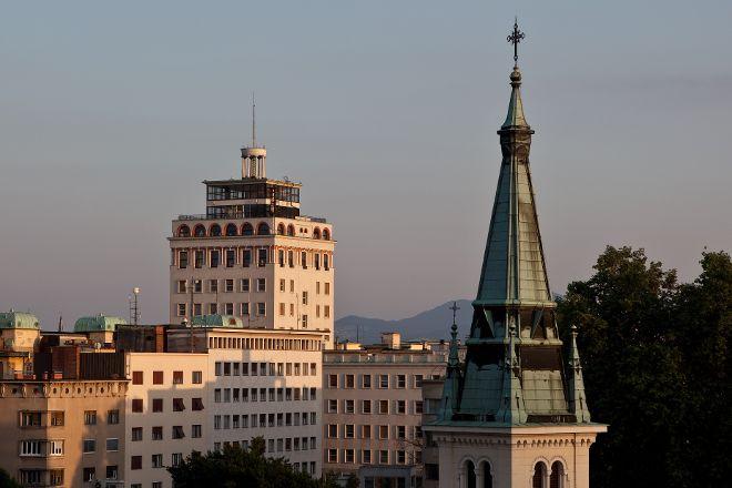 Skyscraper (Neboticnik), Ljubljana, Slovenia