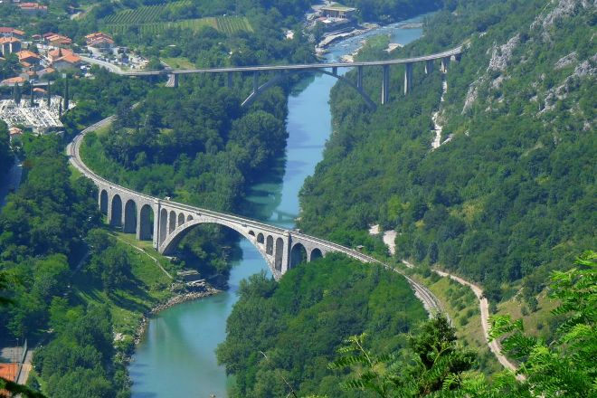 Solkanski Most, Solkan, Slovenia