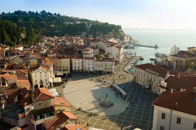Tartini Square, Piran, Slovenia