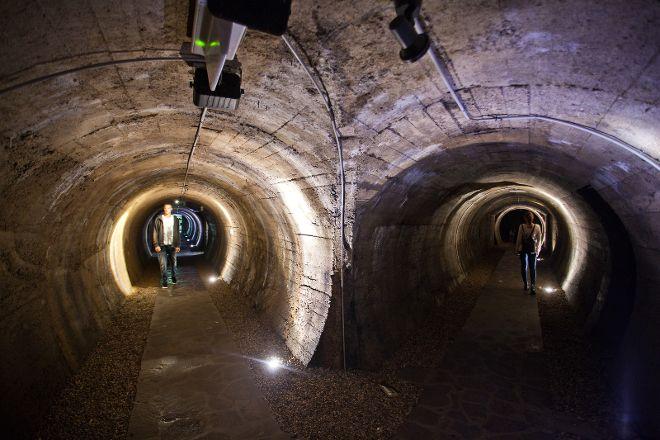 Tunnels Under Old Kranj, Kranj, Slovenia