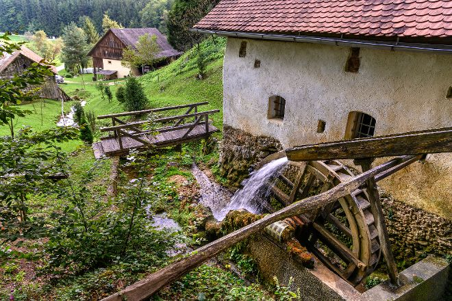 The Vovk Mill, Dobrna, Slovenia