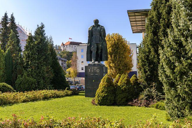 Tito Statue, Velenje, Slovenia