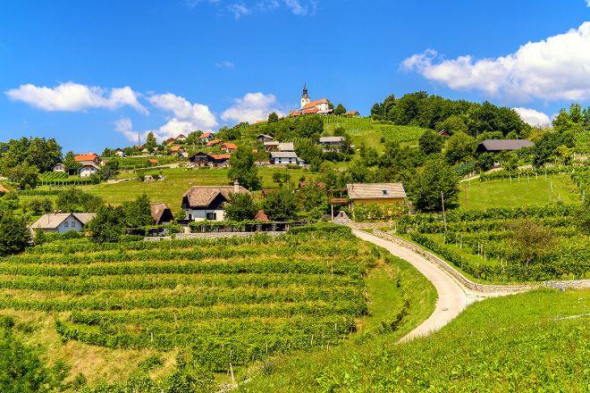 Trška Gora Hill, Novo Mesto, Slovenia