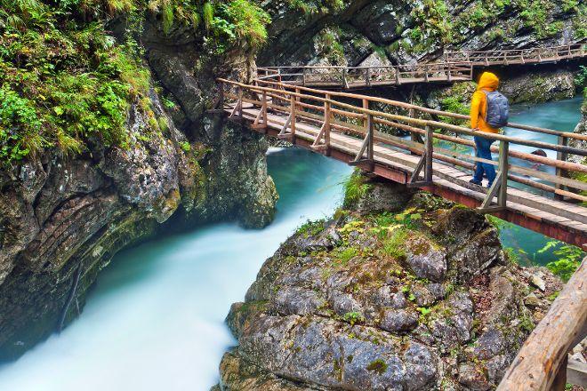 Vintgar Gorge, Zgornje Gorje, Slovenia