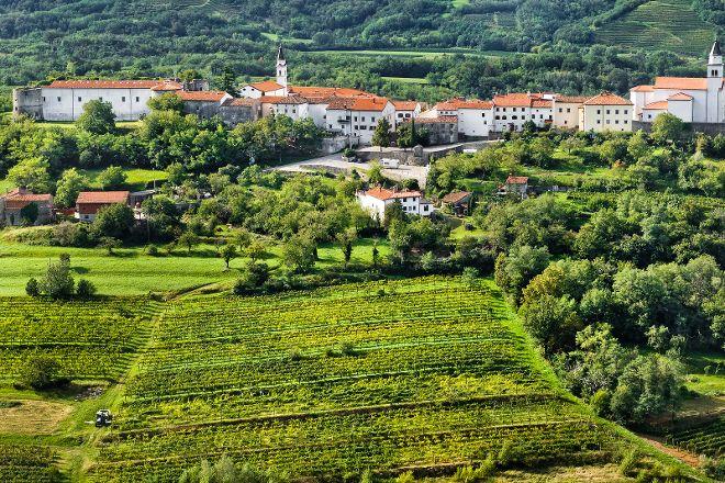 Vipavski Križ Castle, Vipavski Križ, Slovenia