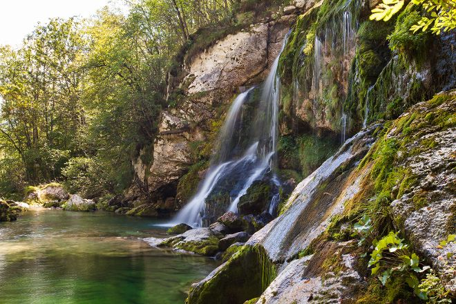 Virje Waterfall, Bovec, Slovenia