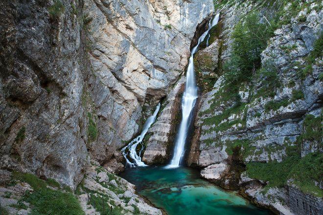 Savica Waterfall, Bohinjsko Jezero, Slovenia