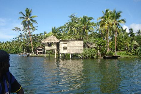 Lake Tegano, Rennell Island, Solomon Islands