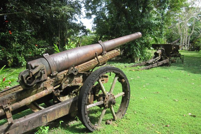 Vilu War Museum, Honiara, Solomon Islands