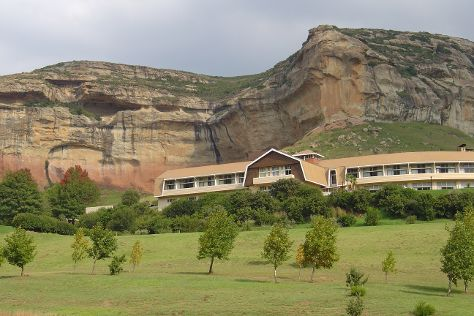 Golden Gate Highlands National Park, Clarens, South Africa