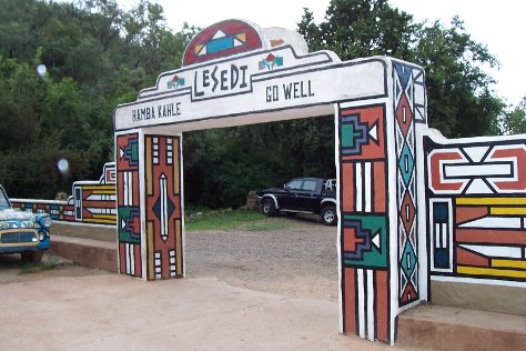 Lesedi Cultural Village, Lanseria, South Africa