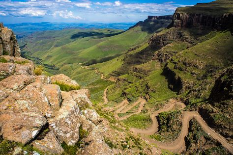 Sani Pass, KwaZulu-Natal, South Africa