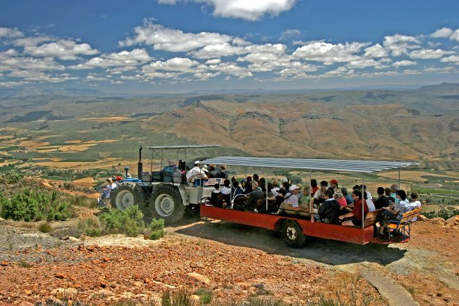 Montague Tractor Ride, Montagu, South Africa