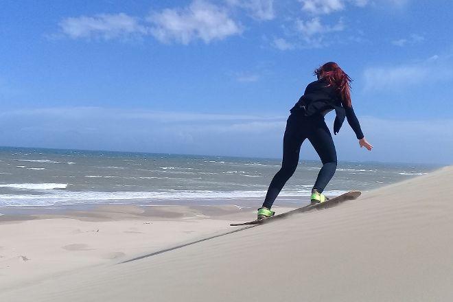 Sandboarding Jeffreys Bay - Wacky Wipeouts, Jeffreys Bay, South Africa