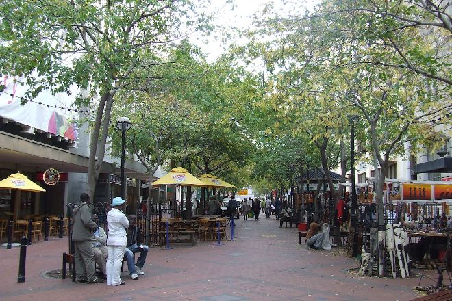 St Georges Mall, Cape Town Central, South Africa