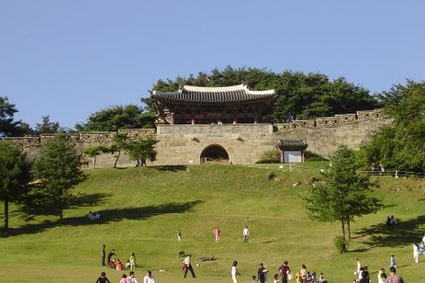 Sangdangsanseong Fortress, Cheongju, South Korea