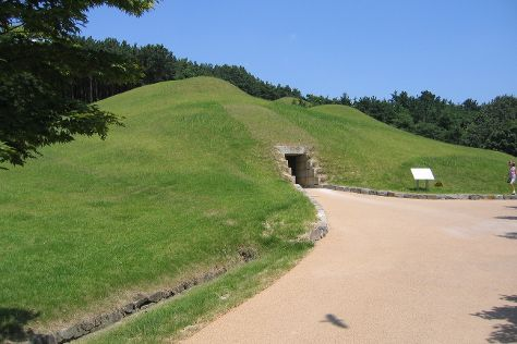 Songsan-ri Tombs and Royal Tomb of King Muryeong, Gongju, South Korea