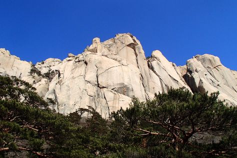 Ulsanbawi Rock, Sokcho, South Korea