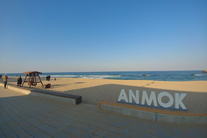 Anmok Beach, Gangneung, South Korea