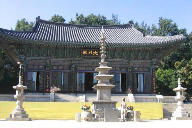 Bongeunsa Temple, Seoul, South Korea