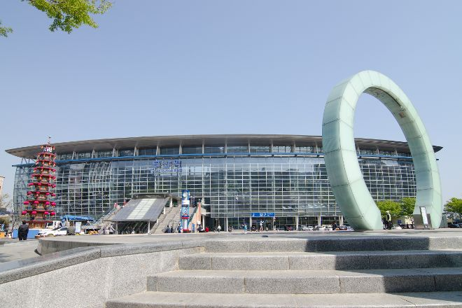 Busan Station Plaza, Busan, South Korea