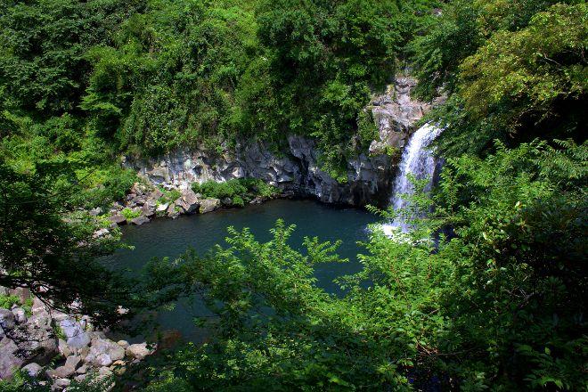 Cheonjiyeon Falls, Seogwipo, South Korea