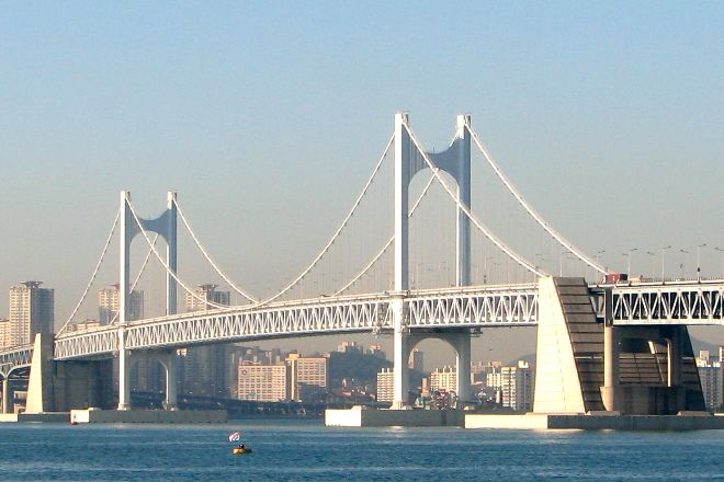 Gwangandaegyo Bridge, Busan, South Korea