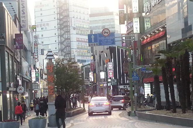 Gwangbokro Culture and Fashion street, Busan, South Korea