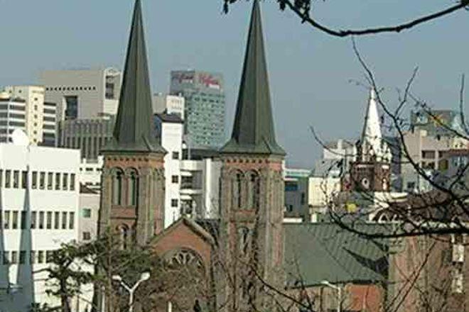 Gyesan Catholic Church, Daegu, South Korea
