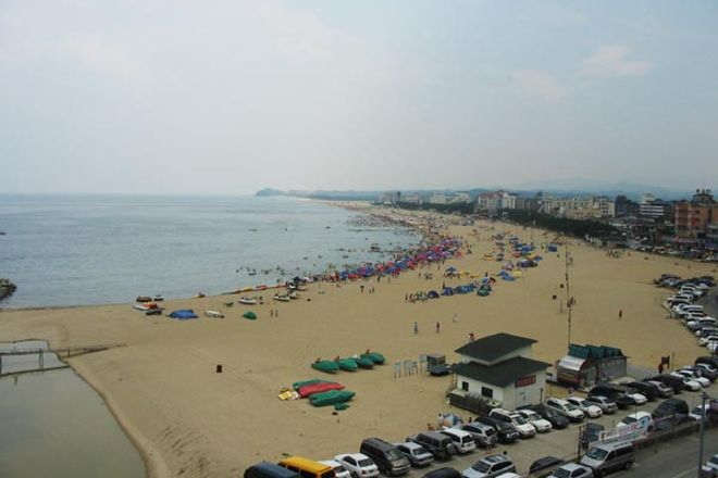 Naksan Beach, Yangyang-gun, South Korea