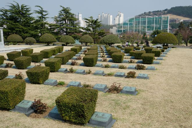 UN Memorial Cemetery, Busan, South Korea