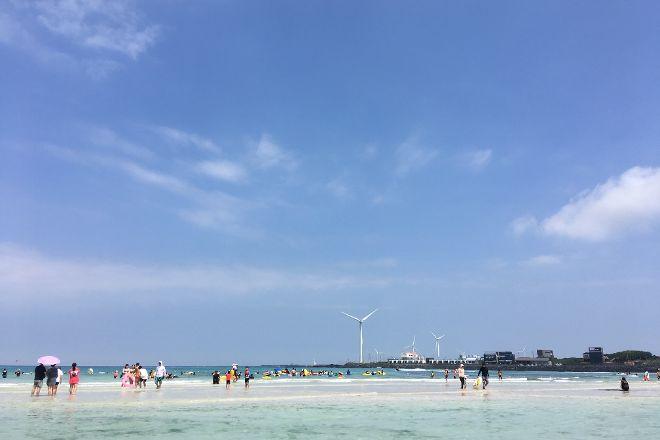 Woljeongri Beach, Jeju, South Korea