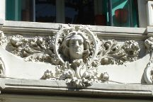 Edificio de la Compania Colonial, Madrid, Spain