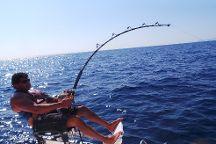 Fishing in Mallorca, Port d'Alcudia, Spain