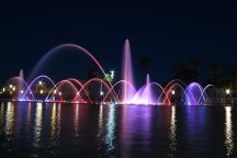 Illuminated Fountain, Salou, Spain