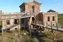 La casa del semaforo y el cuartel de los carabineros, El Prat de Llobregat, Spain