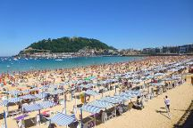 La Concha Beach, San Sebastian - Donostia, Spain