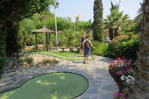 Minigolf Greens, Roses, Spain