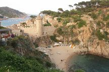 Platja d'es Codolar, Tossa de Mar, Spain