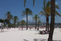 Playa de Alcudia, Port d'Alcudia, Spain