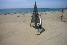 Playa de la Mar Bella, Barcelona, Spain