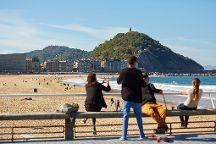 Zurriola Beach, San Sebastian - Donostia, Spain