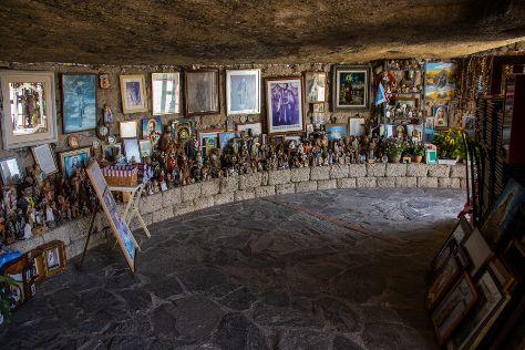 Cave of Santo Hermano Pedro, Granadilla de Abona, Spain