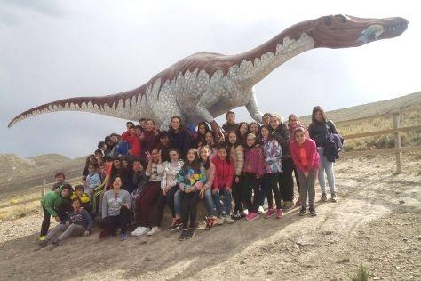 Centro de Interpretacion Paleontologica de La Rioja, Igea, Spain