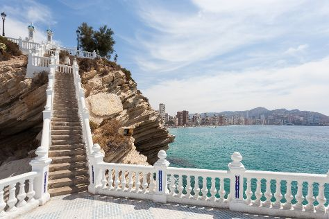 El Casco Antiguo de Benidorm, Benidorm, Spain