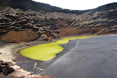 El Lago Verde / Charco de los Clicos, El Golfo, Spain