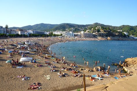 Great Beach, Tossa de Mar, Spain