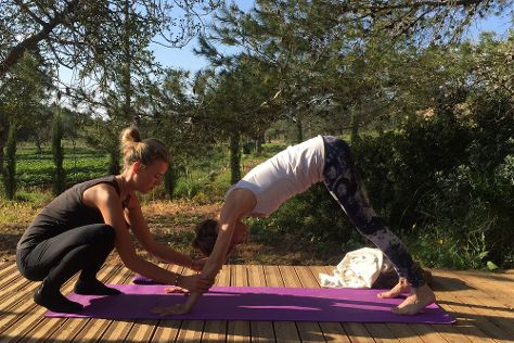 LilyPod Yoga, Ibiza, Spain