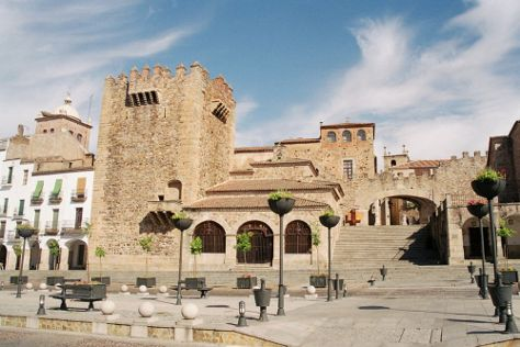 Old Town of Caceres, Caceres, Spain
